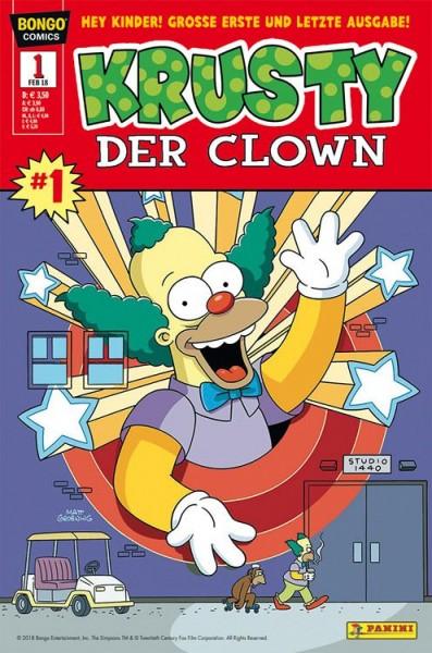 Simpsons Comics präsentiert: Krusty der Clown 1