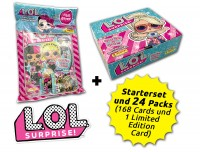 L.O.L. Surprise! Glitter 'n' Glow Trading Cards Kollektion - Box-Bundle