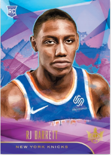 NBA Court Kings 2019/20 Trading Cards - Rookies I - RJ Barrett