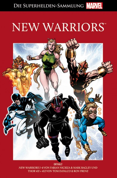 Die Marvel Superhelden Sammlung Band 75: New Warriors