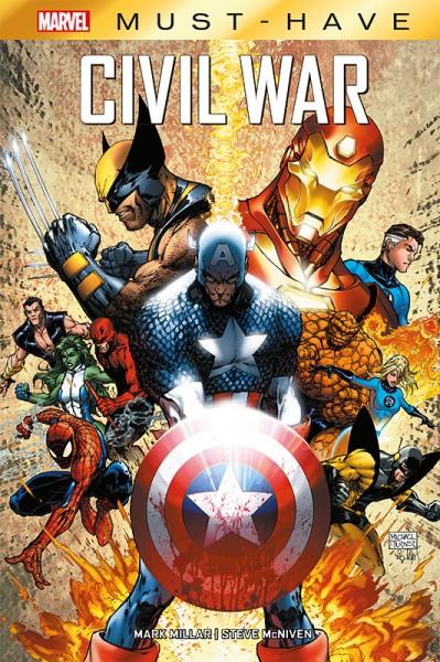 Marvel Must Have: Civil War Cover