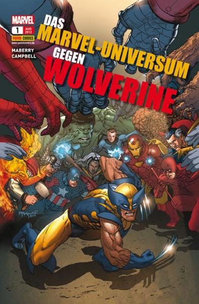Das Marvel-Universum gegen Wolverine
