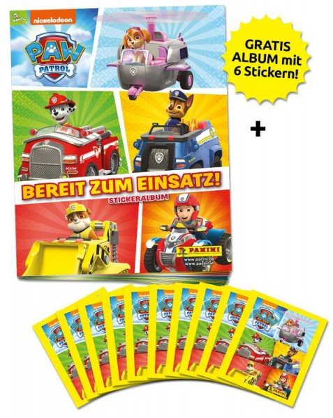 Paw Patrol Stickerkollektion 3 – Schnupperbundle