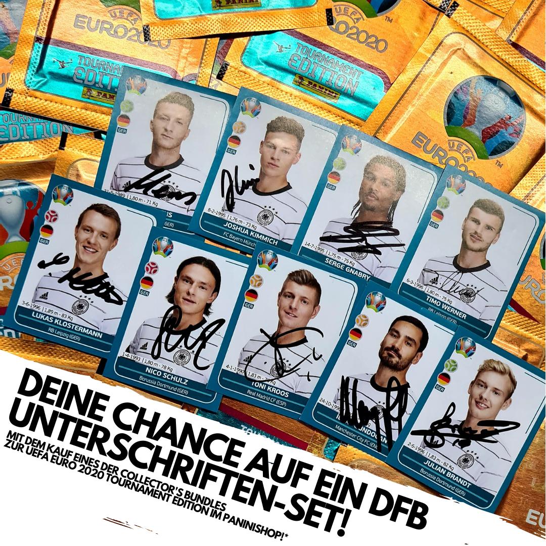 DFB-Set Unterschriften