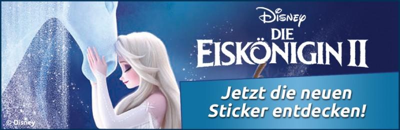 Die Eiskönigin – jetzt die neuen Crystal-Sticker entdecken!
