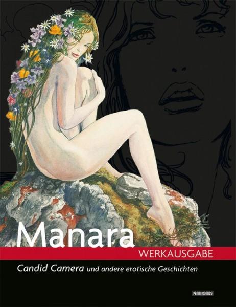 Milo Manara Werkausgabe 4: Candid Camera und andere erotische Geschichten
