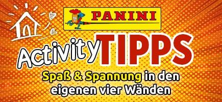 Panini Activity Tipps – Spaß und Spannung in den eigenen vier Wänden