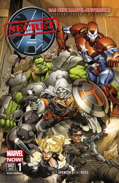 Secret Avengers 1 Variant