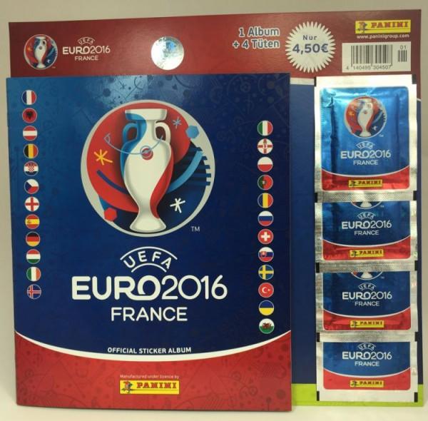 UEFA Euro 2016 Sticker Kollektion - Starter Set 1