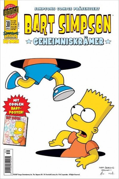 Bart Simpson Comics 30 Cover