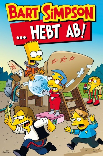 Bart Simpson Sonderband 14: …hebt ab!