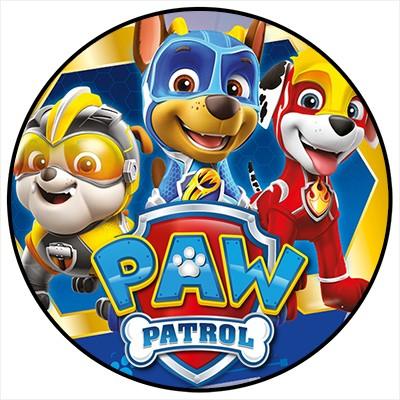 Paw Patrol Mighty Pups Stickerkollektion Minibanner