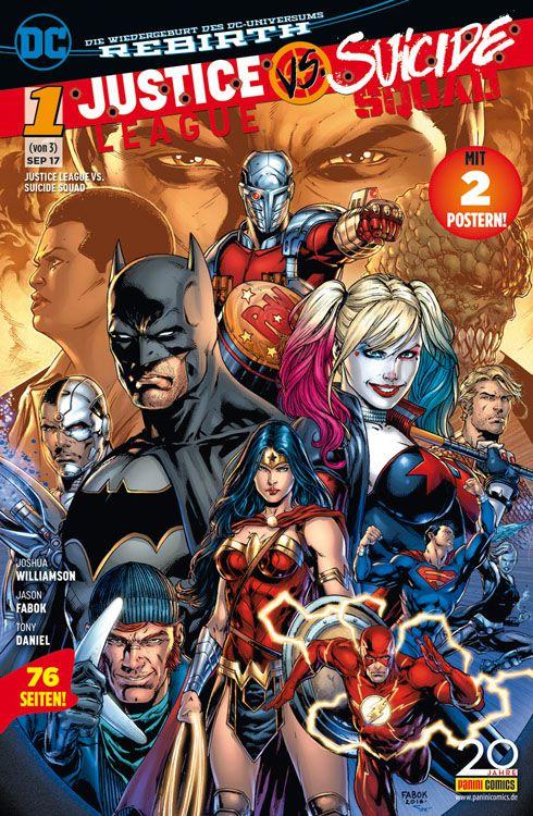Justice League vs. Suicide Squad 1