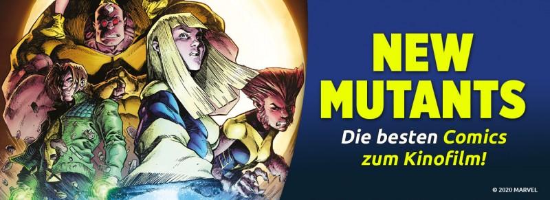New Mutants die Comics zum Kinofilm