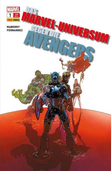 Das Marvel-Universum gegen die Avengers