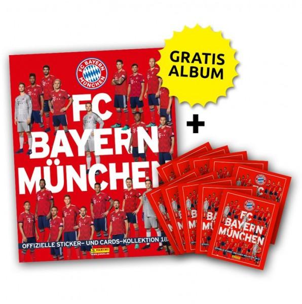 FC Bayern München: Offizielle Sticker- und Cards-Kollektion 2018/2019 - Minibundle