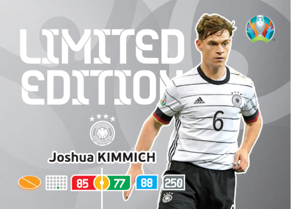 UEFA Euro 2020 Adrenalyn XL Limited Edition Card Joshua Kimmich