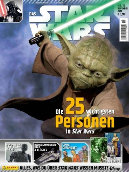 Star Wars Universum Magazin Ausgabe 11 Cover Yoda