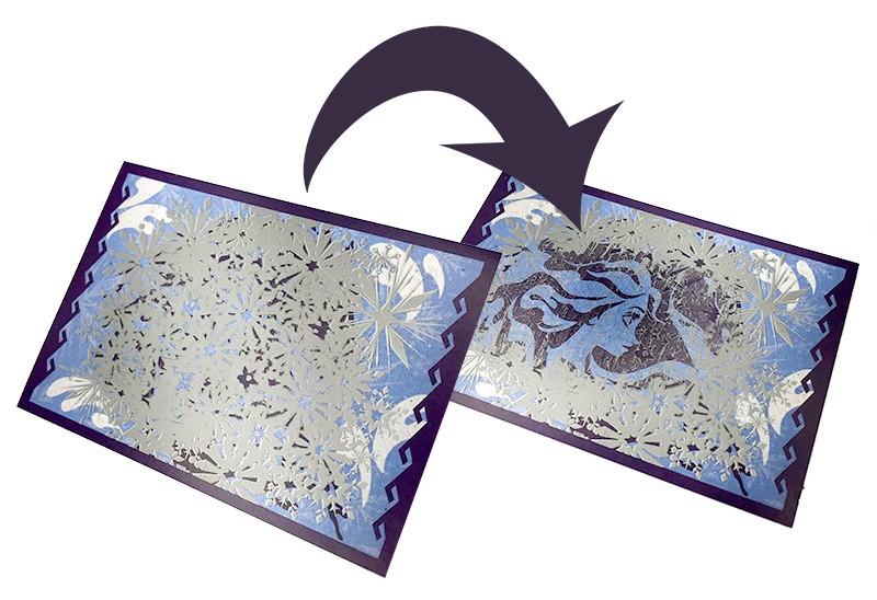 Die Eiskönigin 2 - Crystal Edition - Sticker und Cards - Rubbelsticker