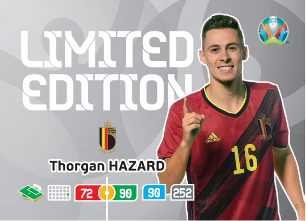 Euro 2020™ XXL LE-Card: Thorgan Hazard (Belgien)