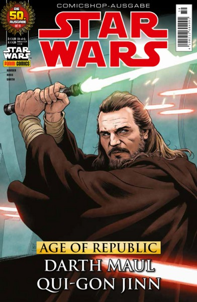 Star Wars 50 - Age of Republic - Darth Maul & Qui-Gon Jinn - Comicshop Ausgabe