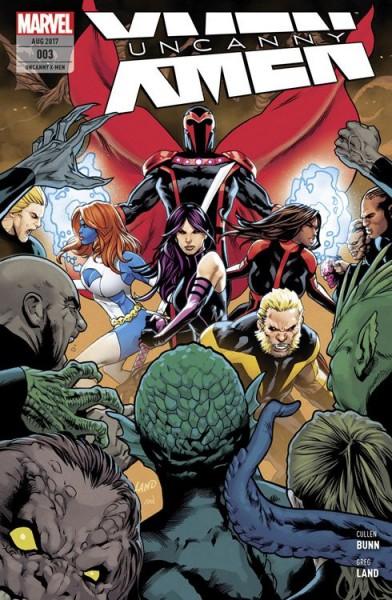 Uncanny X-Men 3: Bedrohte Spezies