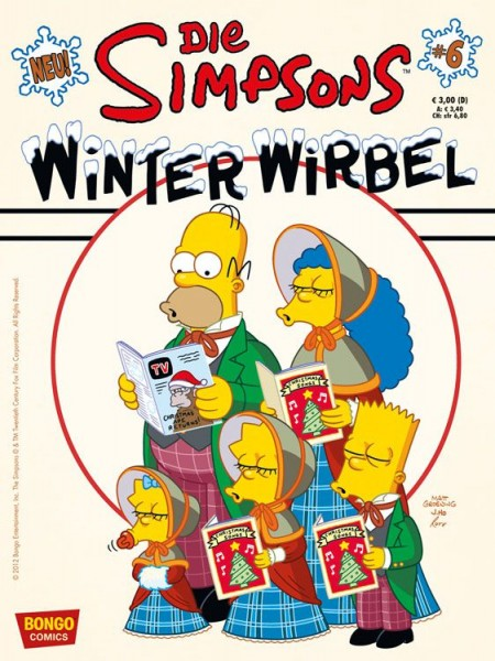Simpsons: Winter-Wirbel 6