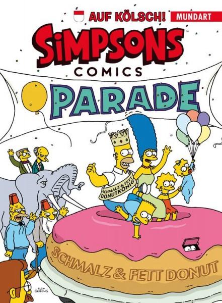 Simpsons Comics auf Kölsch