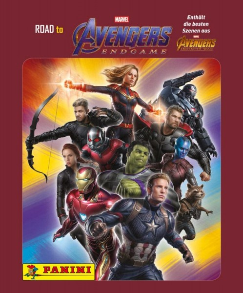 Road to Avengers Endgame - Sticker und Trading Cards - Tüte