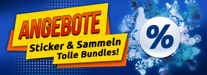 Angebote - Sticker & Sammeln - Tolle Bundles!