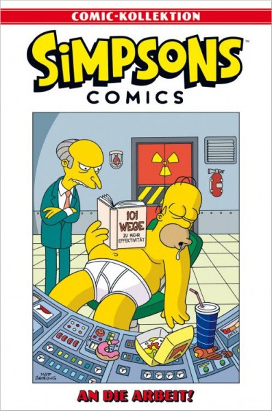 Simpsons Comic-Kollektion 5: An die Arbeit! Cover