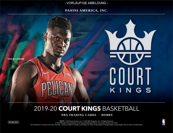 NBA Court Kings 2019-20 Trading Cards - Hobbybox