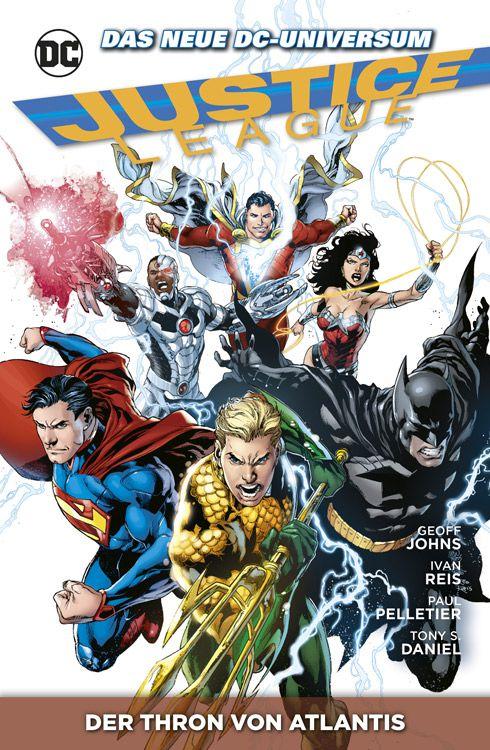 Justice League 3: Der Thron von Atlantis
