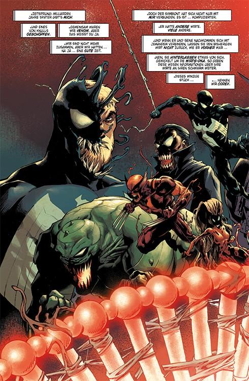 Absolute Carnage 1 Blick in den Comic Vorschauseite