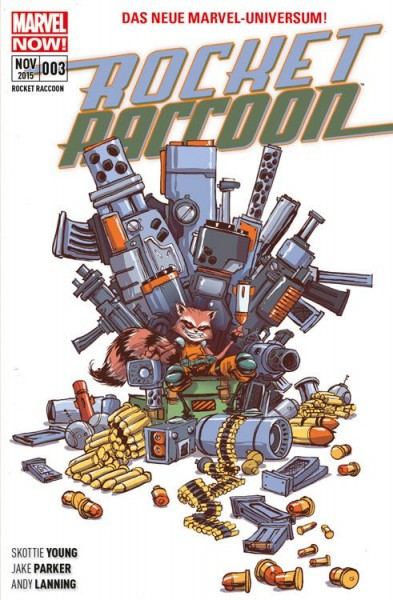 Rocket Raccoon 3