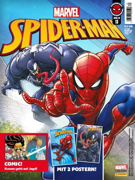 Spider-Man 13 Magazin Cover