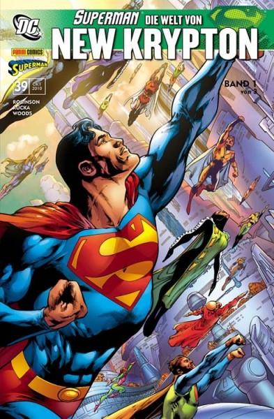 Superman Sonderband 39: Die Welt von New Krypton 1