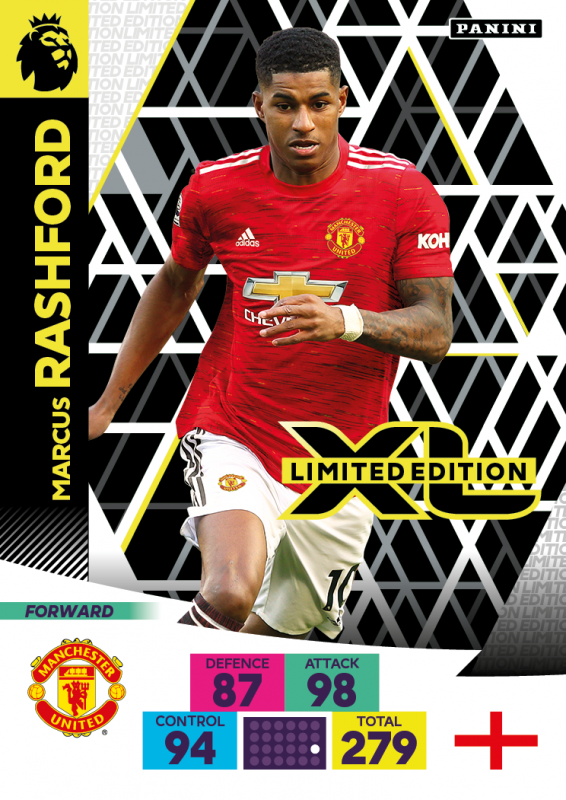Panini Premier League Adrenalyn XL 2020/21 - Marcus Rashford