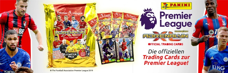 Panini Premier League - Adrenalyn XL - Die offiziellen Trading Cards zur Premier League!