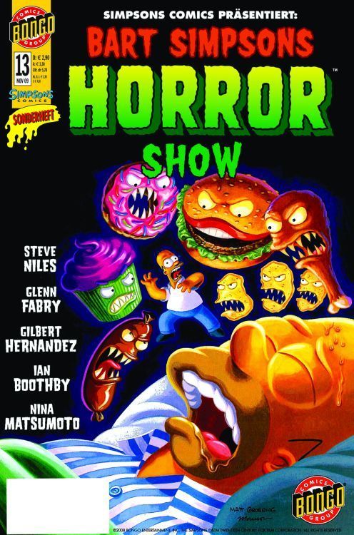Bart Simpsons Horror Show 13