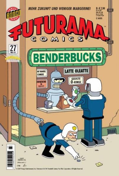 Futurama Comics 27