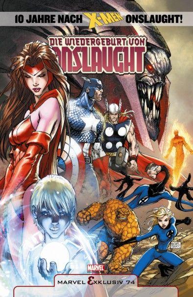 Marvel Exklusiv 74: Die Wiedergeburt...