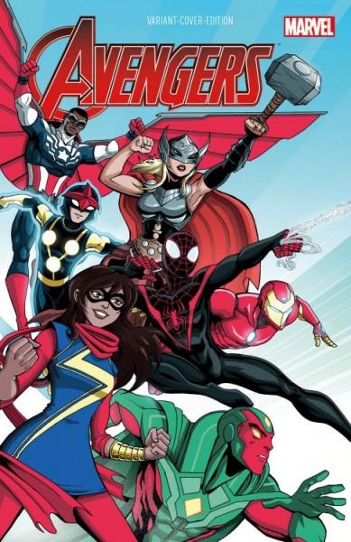 Avengers 1 (2016) Comic Con Stuttgart Variant