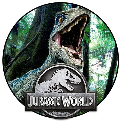 Jurassic World Anthology Sticker und Cards Minibanner Dinosaurier