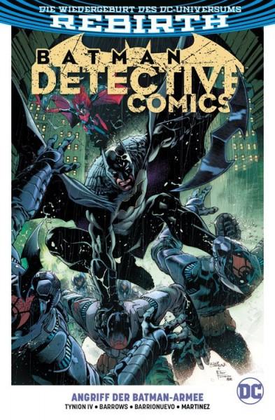 Batman: Detective Comics 1: Angriff der Batman-Armee Cover