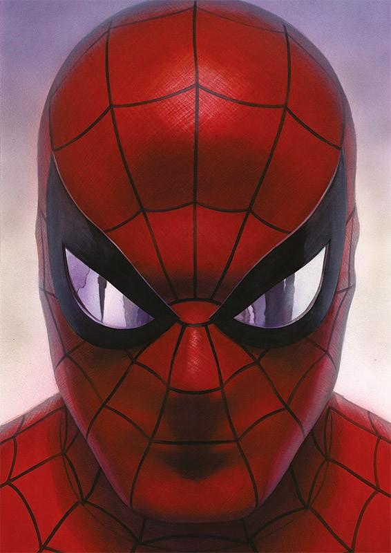 80 Jahre Marvel Sticker und Cards - Beispiel Spider-Man