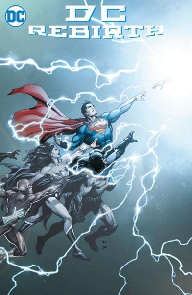 DC Rebirth Special: Die Wiedergeburt des DC-Universums Variant B