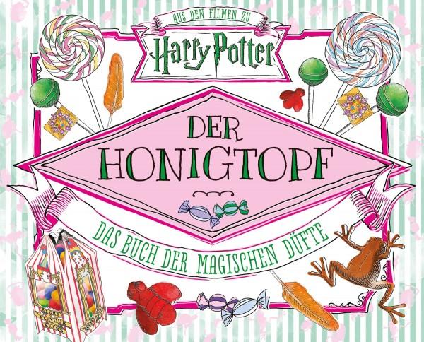 Harry Potter: Der Honigtopf - Das Buch der magischen Düfte Cover
