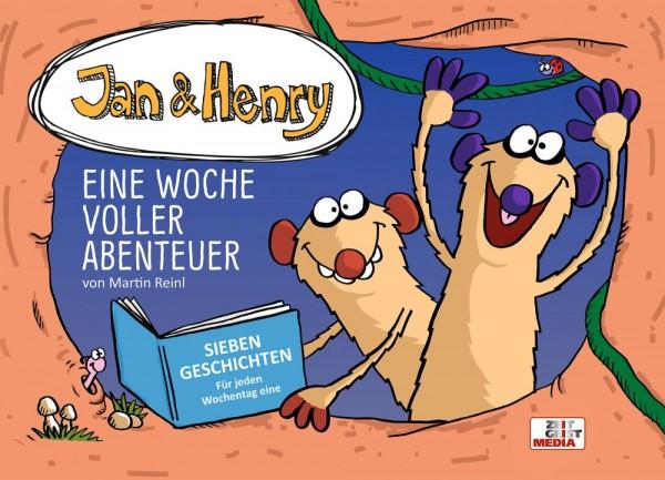 Jan und Henry – Eine Woche voller Abenteuer Cover