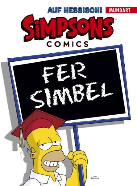 Simpsons Comics auf Hessisch